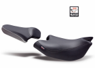 Comfort seat SHAD SHH0N720CNH heated black/grey, grey seams (without logo)